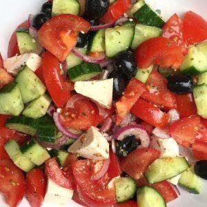Griekse salade EEFSFOOD