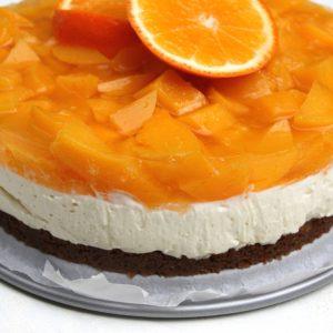 Perzik-sinaasappel monchoutaart EEFSFOOD