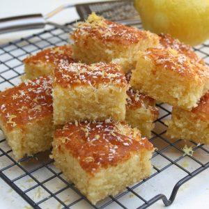 Smeuïge citroen-kokos cake EEFSFOOD