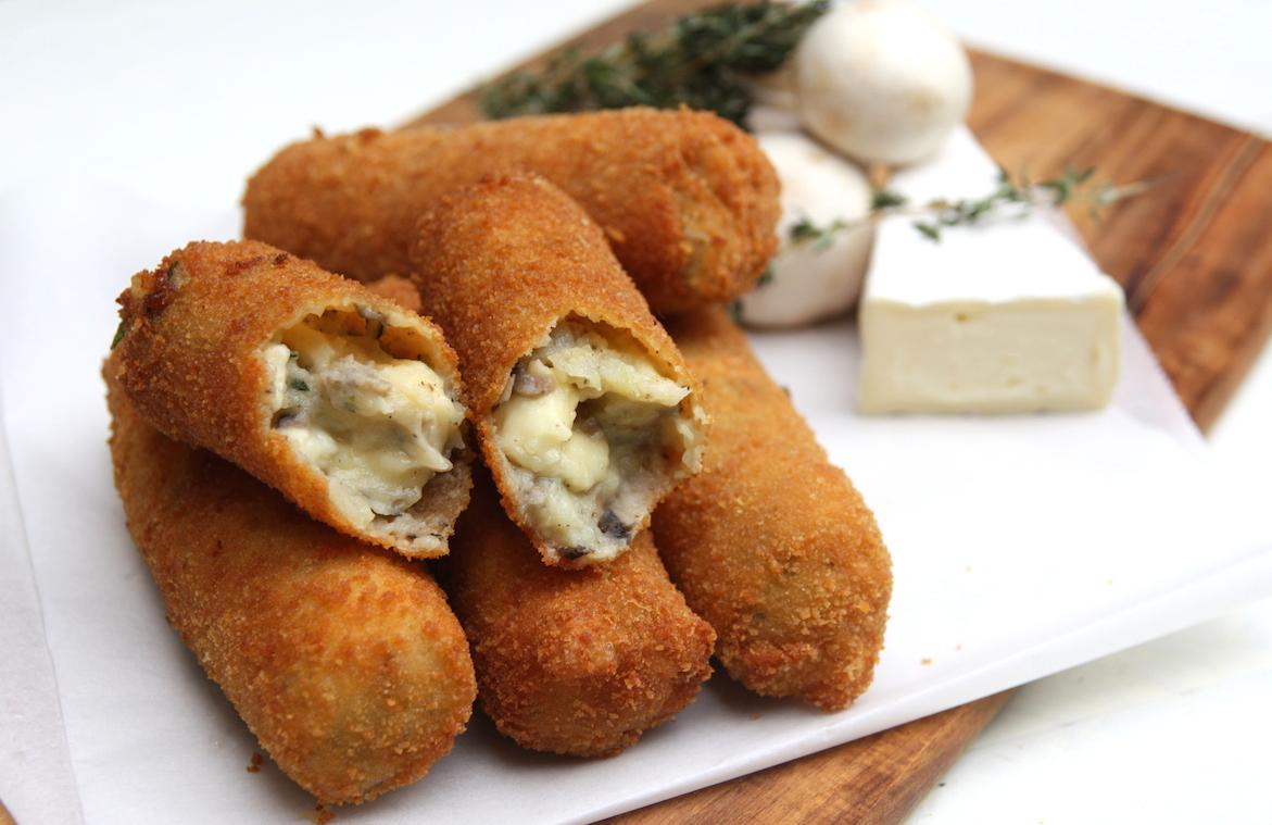 Kroketten brie-champignon