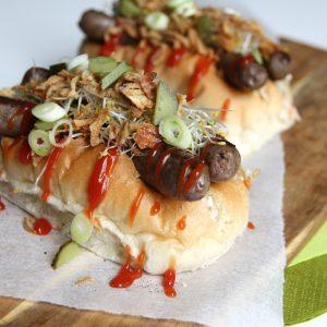 Dubbele hotdogs EEFSFOOD