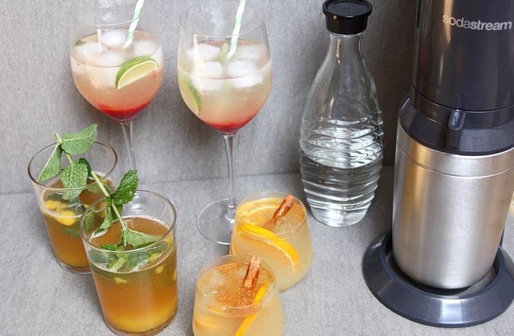 3 Fris en fruitige drankjes gemaakt met SodaStream