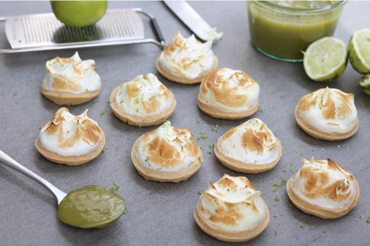 Limoen meringue koekjes