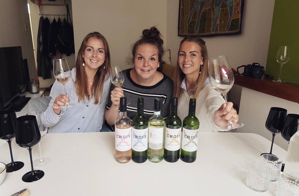 Witte wijnproeverij + blinde smaaktest met de Wijntweeling