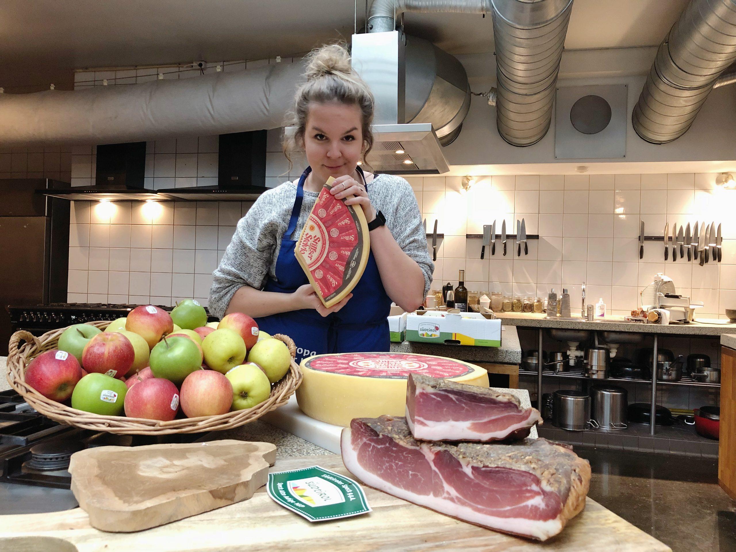 Koken met heerlijke streekproducten uit Zuid-Tirol
