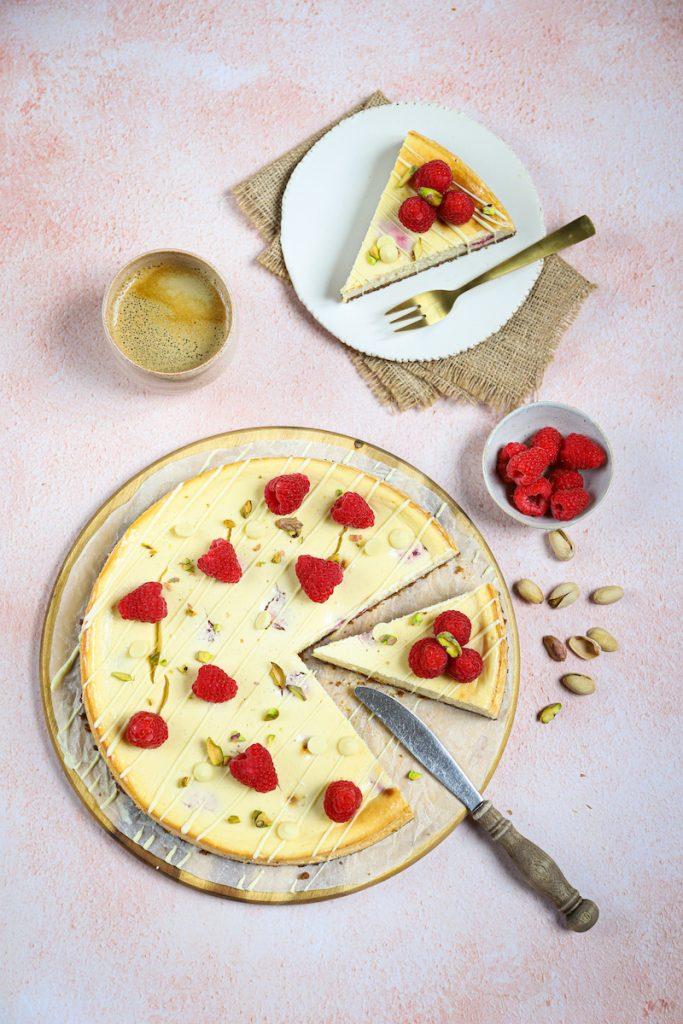 cheesecake bovenaf