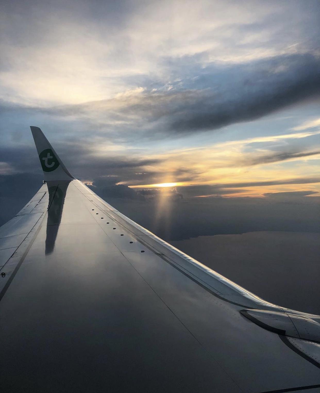 Vliegtuig foto Athene