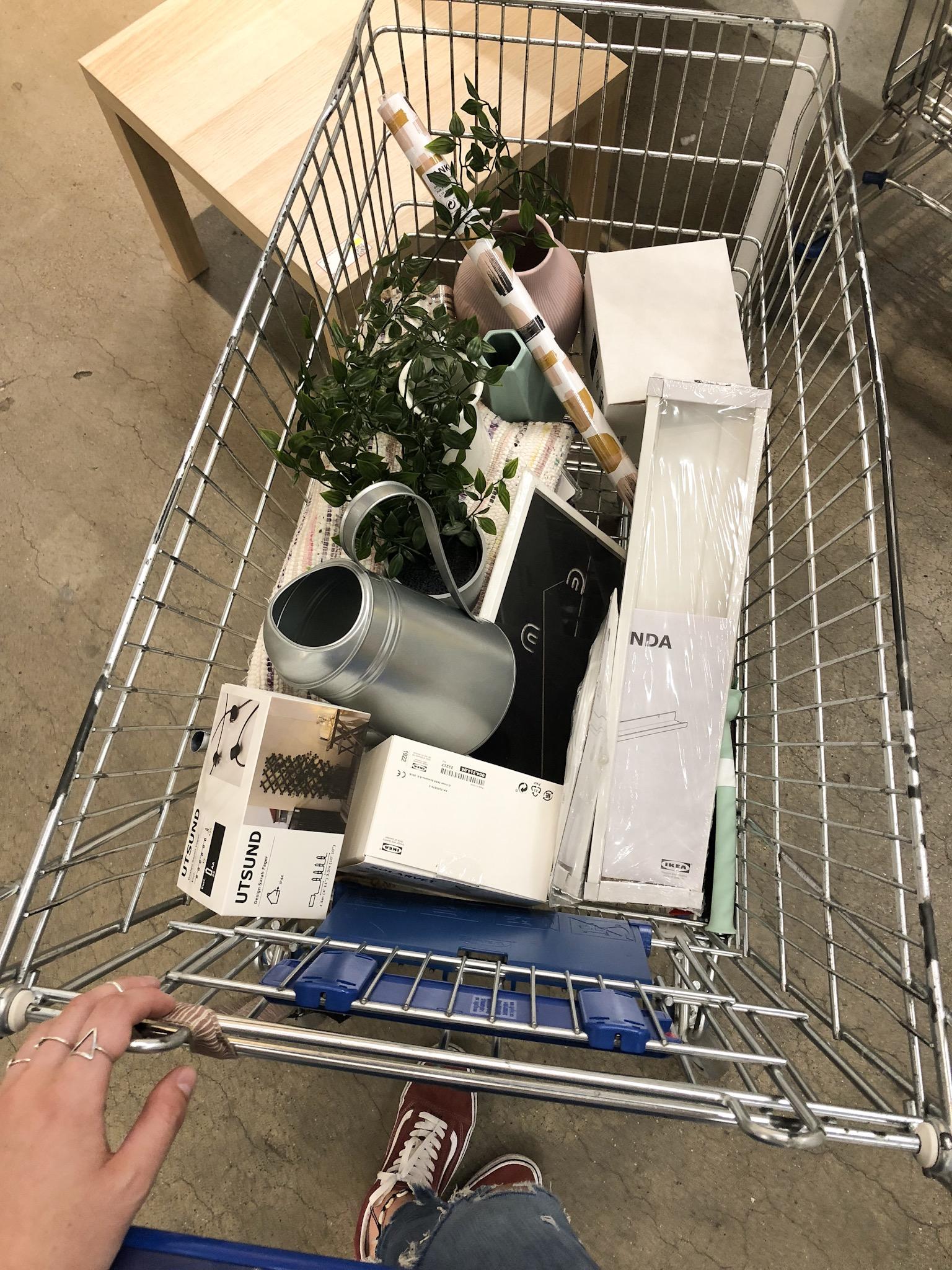 Ikea leeg gekocht