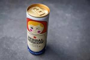 Herbal Moscow ginger beer