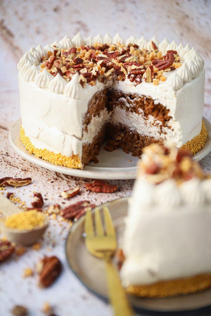 Binnenkant taart