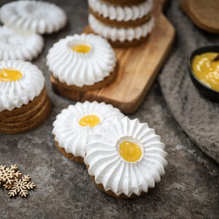 Lemon meringue koekjes