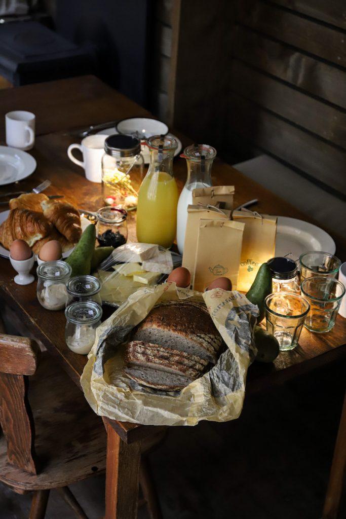Nutchel ontbijttafel